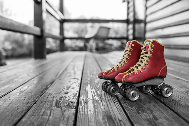 Roller Skates - stress relief tips list