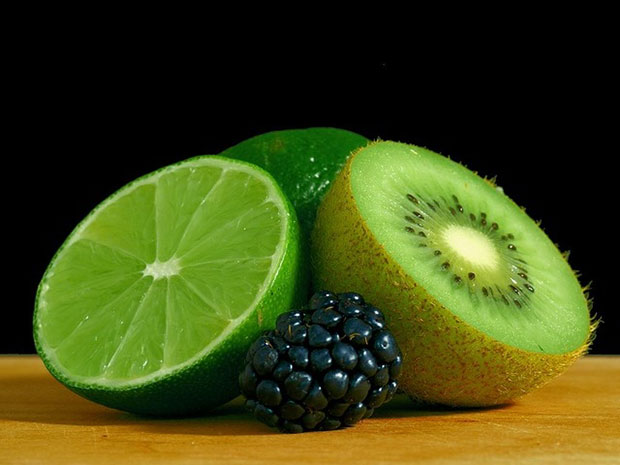 kiwi lime and blackberry - stress relief tips list