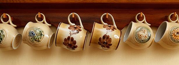 Coffee mugs - healthy breakfasts habit